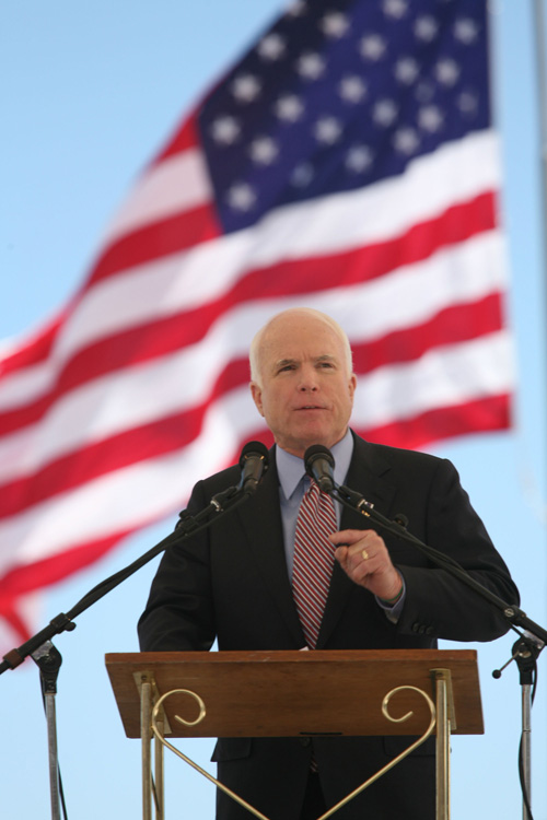 McCain flag