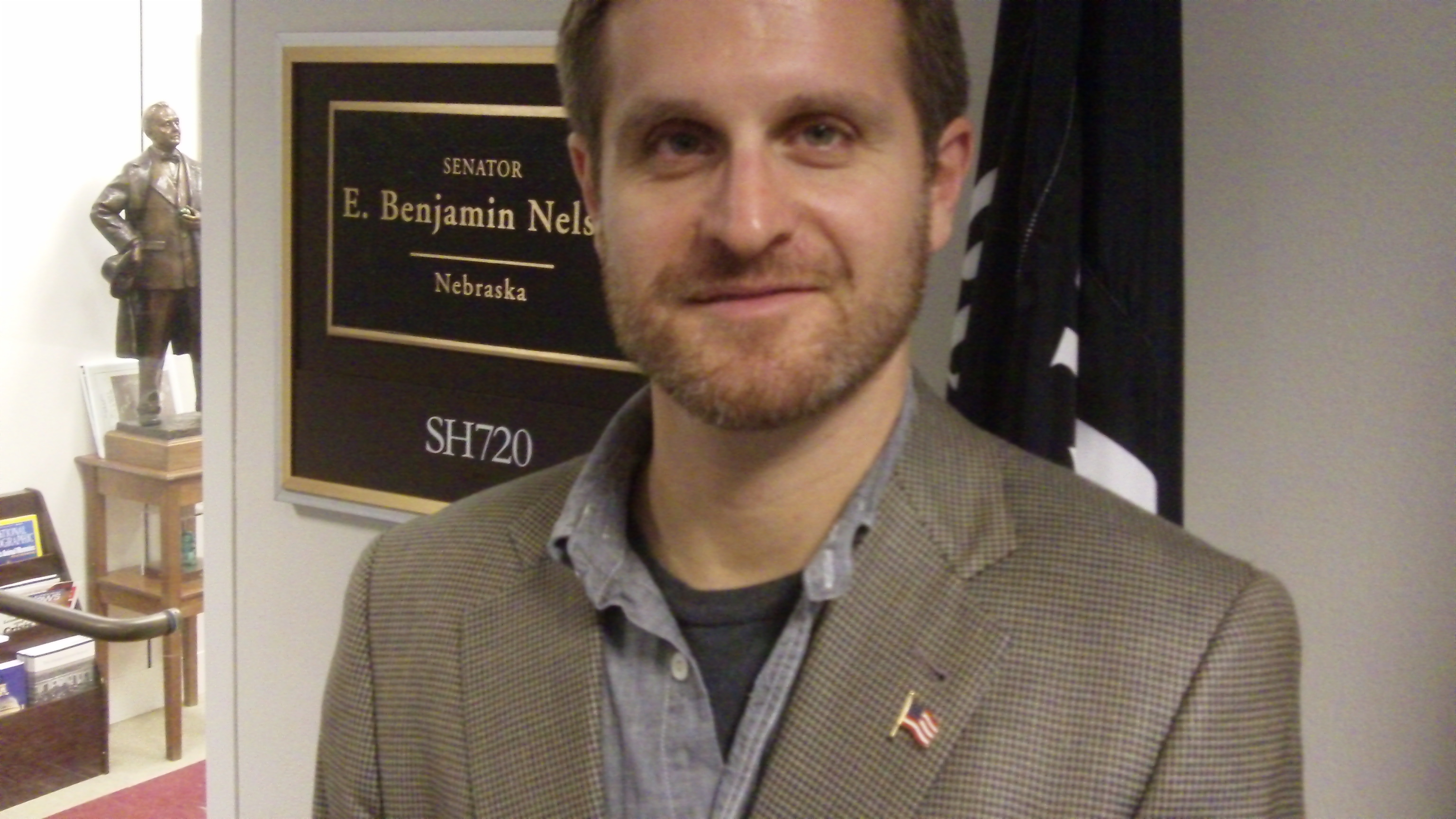 Martin Eisenstadt in Sen. Ben Nelsons office